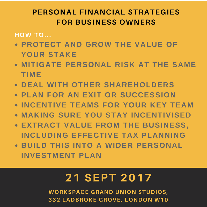 Personal Financial Strategies for Business Owners - Workspace